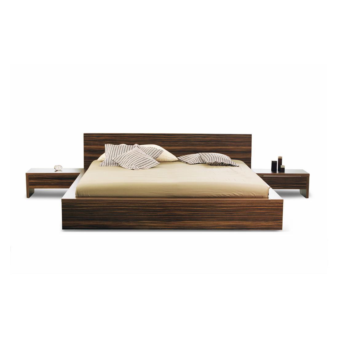 Dark Wood Bed 50lbs